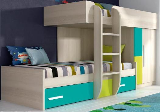 Cómo amueblar una habitación juvenil pequeña de forma minimalista