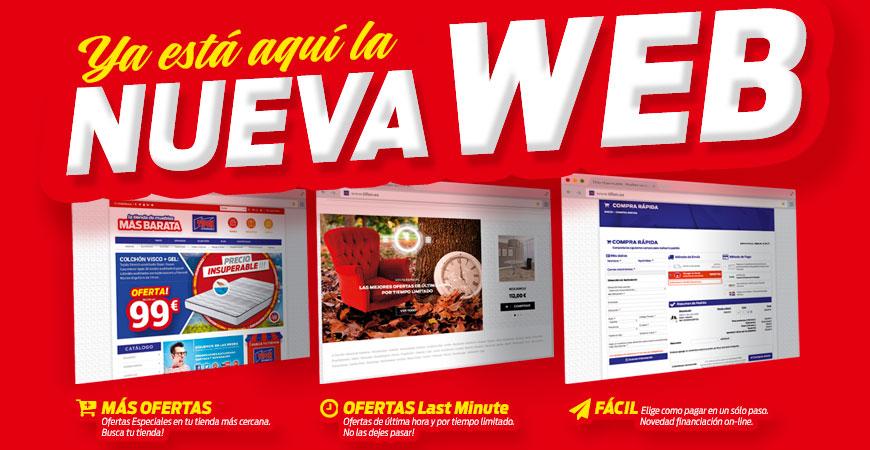 ¡NUEVA WEB de Tifón Hipermueble!