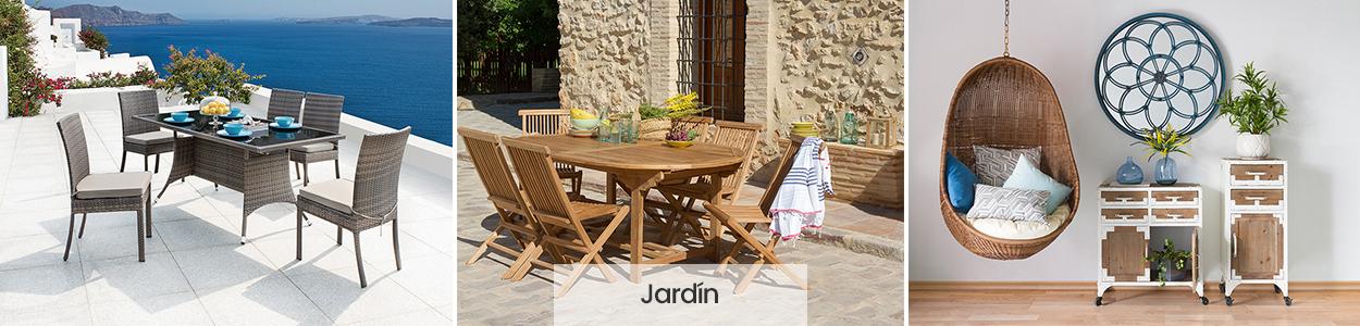 muebles y accesorios para jardín y terraza