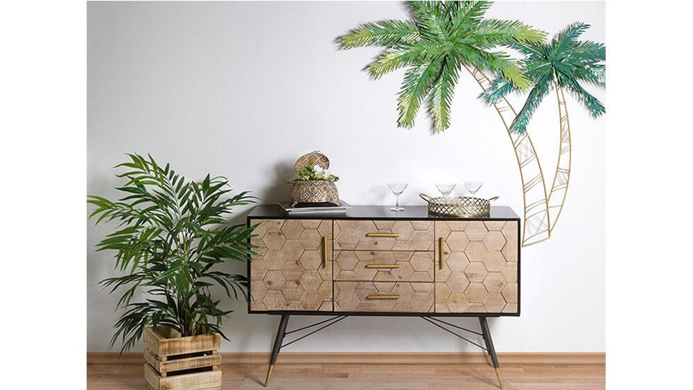 ¿Cómo decorar tu casa con cojines, cuadros, espejos y pufs?