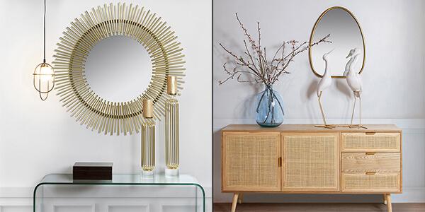 Tips para decorar tu casa en color dorado