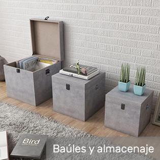 baules y cajas para almacenar