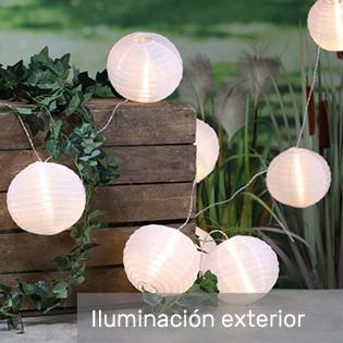 luces e iluminación para exterior