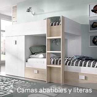 camas abatibles y literas