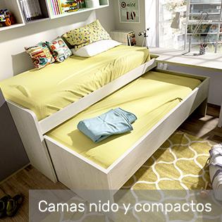 camas compactas y camas nido