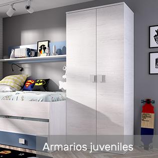 armarios para habitación juvenil o infantil