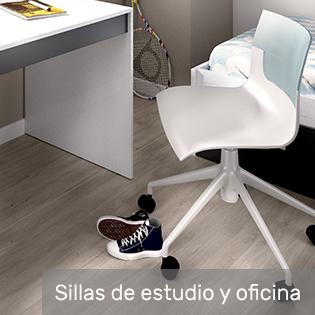 sillas de estudio y oficina