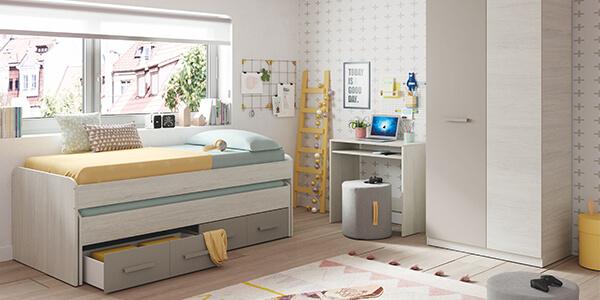 Conoce las diferencias entre cama nido y cama compacta ¿Cuál prefieres?